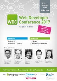 Web Developer Conference 2017 | Angular & React
