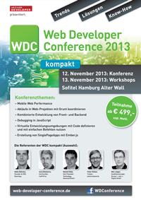 Web Developer Conference 2013